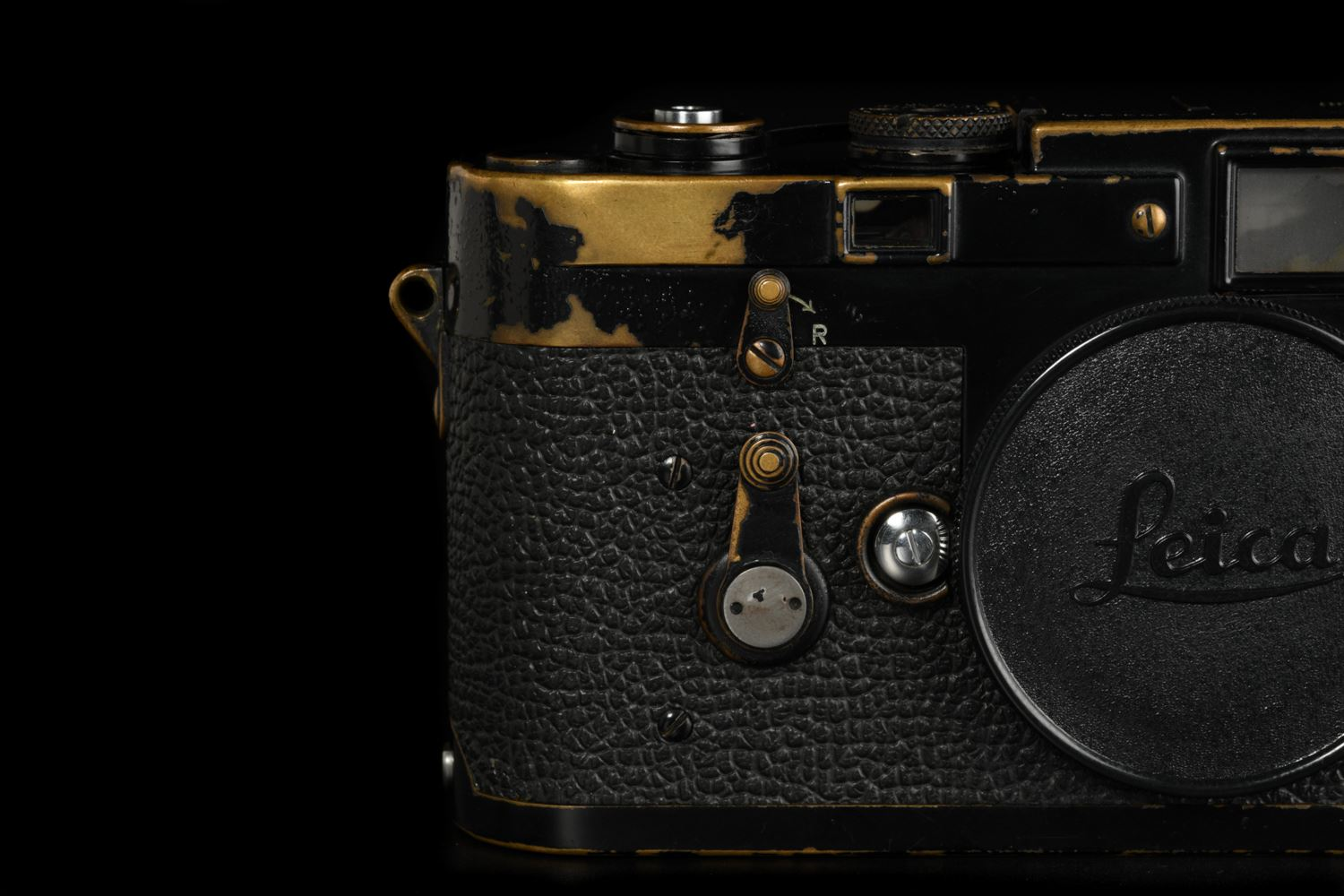 Picture of Leica M3 Early Original Black Paint with Buddha Ear