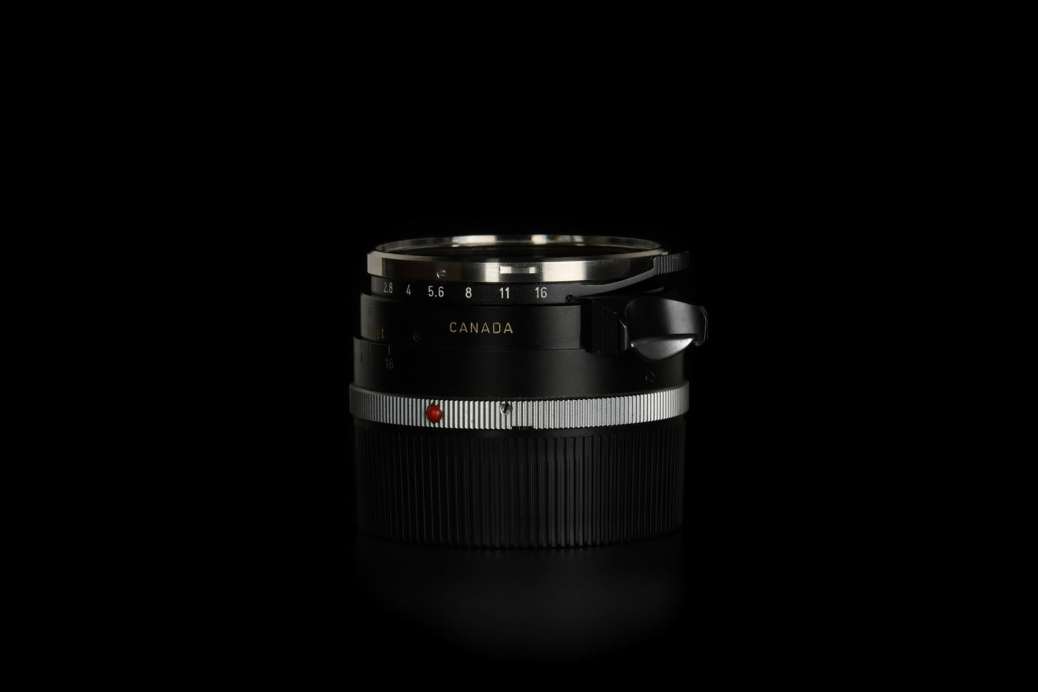 Picture of Leica Summilux-M 35mm f/1.4 Ver.1 Steel Rim Black Paint M2