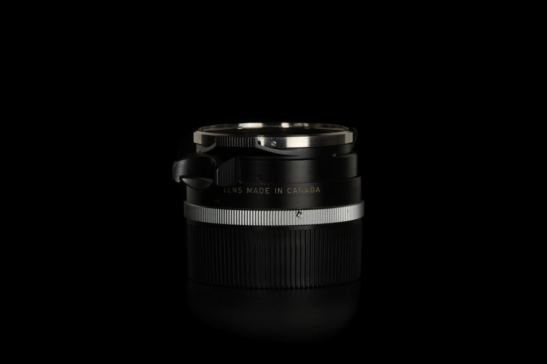 Picture of Leica Summilux-M 35mm f/1.4 Ver.1 Steel Rim Black Paint M2