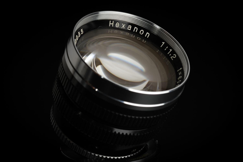 Picture of Konishiroku Konica Hexanon 60mm f/1.2 Original Leica Screw LTM