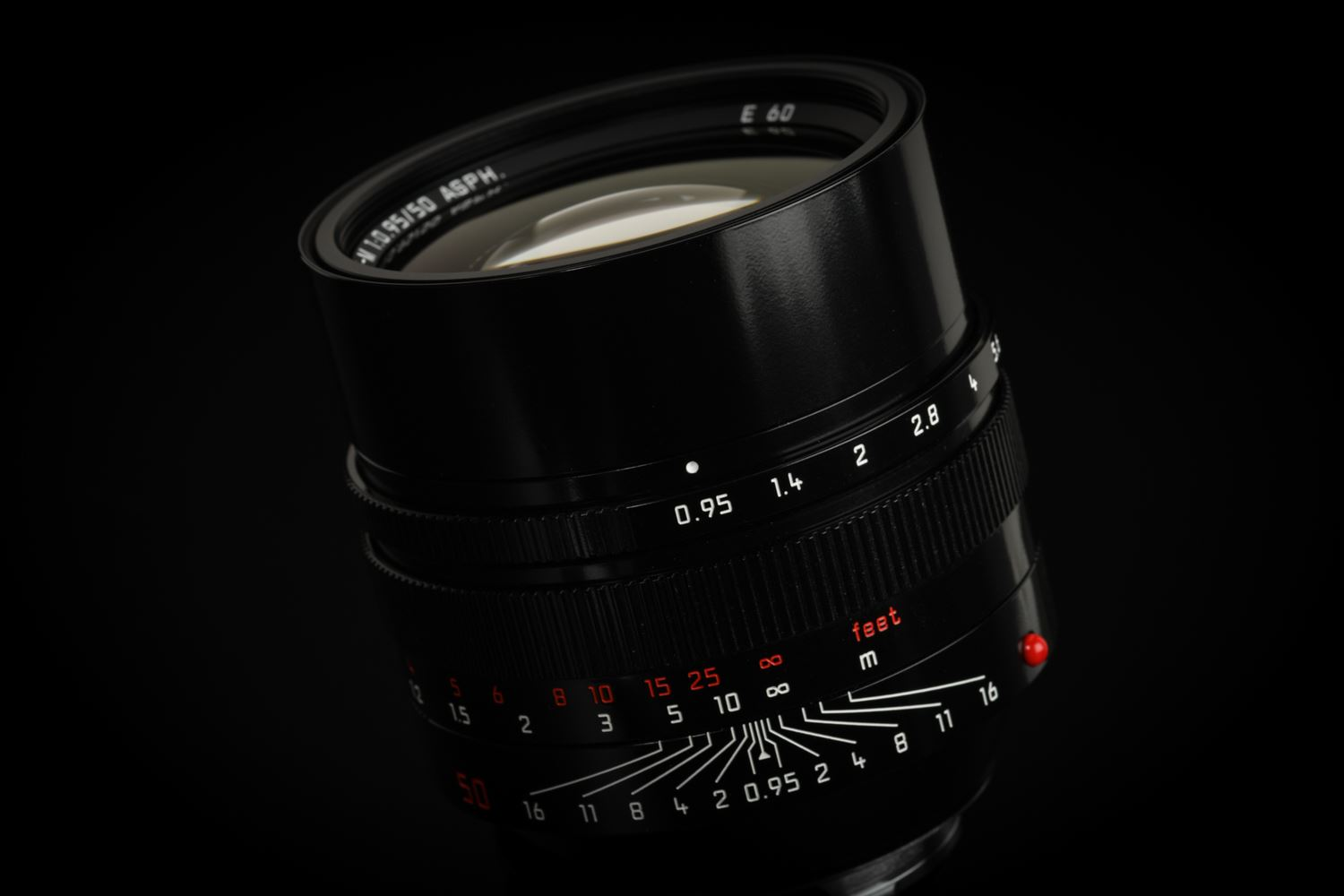 "Picture of Leica Noctilux-M 50mm f/0.95 ASPH Black Paint ""70th Anniversary Republic of Korea"""