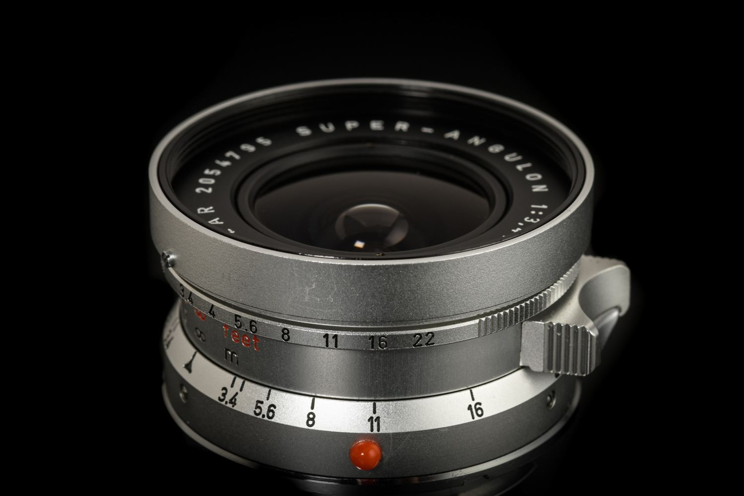 Picture of Leica Super-Angulon 21mm f/3.4 Silver with View Finder