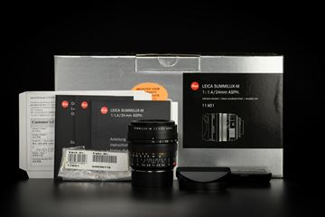 Picture of Leica Summilux-M 24mm f/1.4 ASPH Black