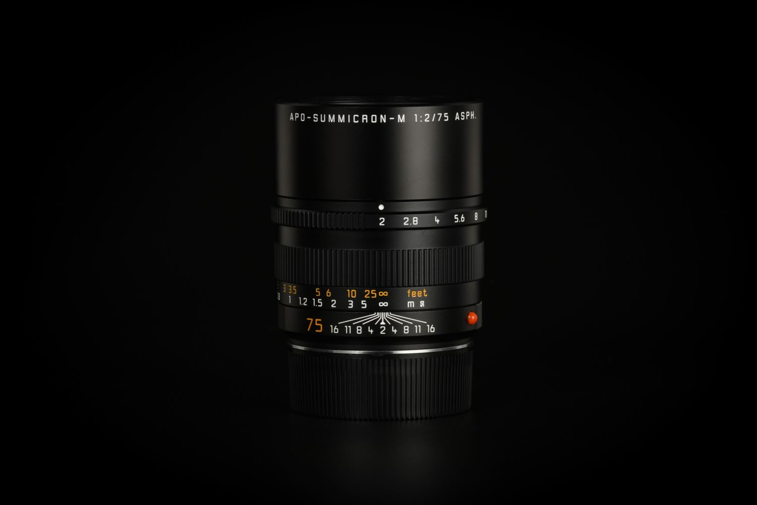 Picture of Leica APO-Summicron-M 75mm f/2 ASPH Black