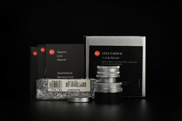 Picture of Leica Elmar-M 50mm f/2.8 Silver Collapsible