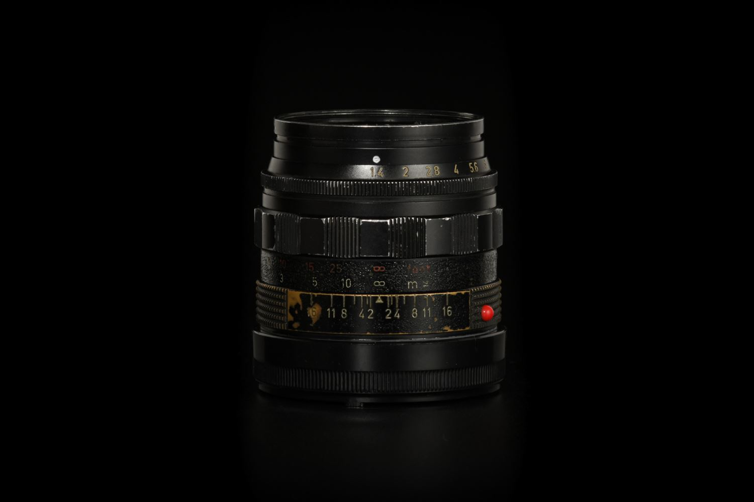 Picture of Leica Summilux-M 50mm f/1.4 Ver.2 Black Paint