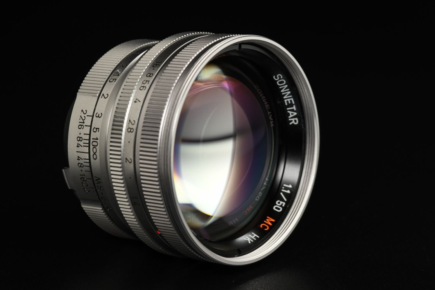 Picture of MS-Optical Sonnetar 50mm f/1.1 MC HK Silver