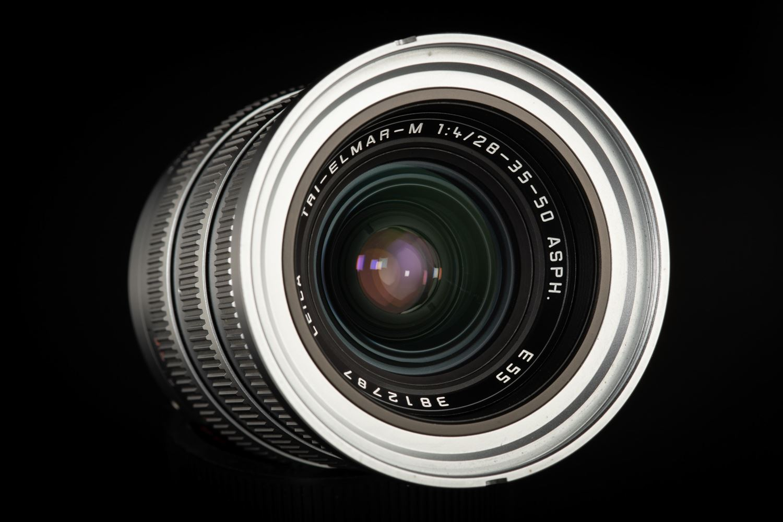 Picture of Leica Tri-Elmar-M 28-35-50mm f/4 ASPH Ver.1 Silver Chrome