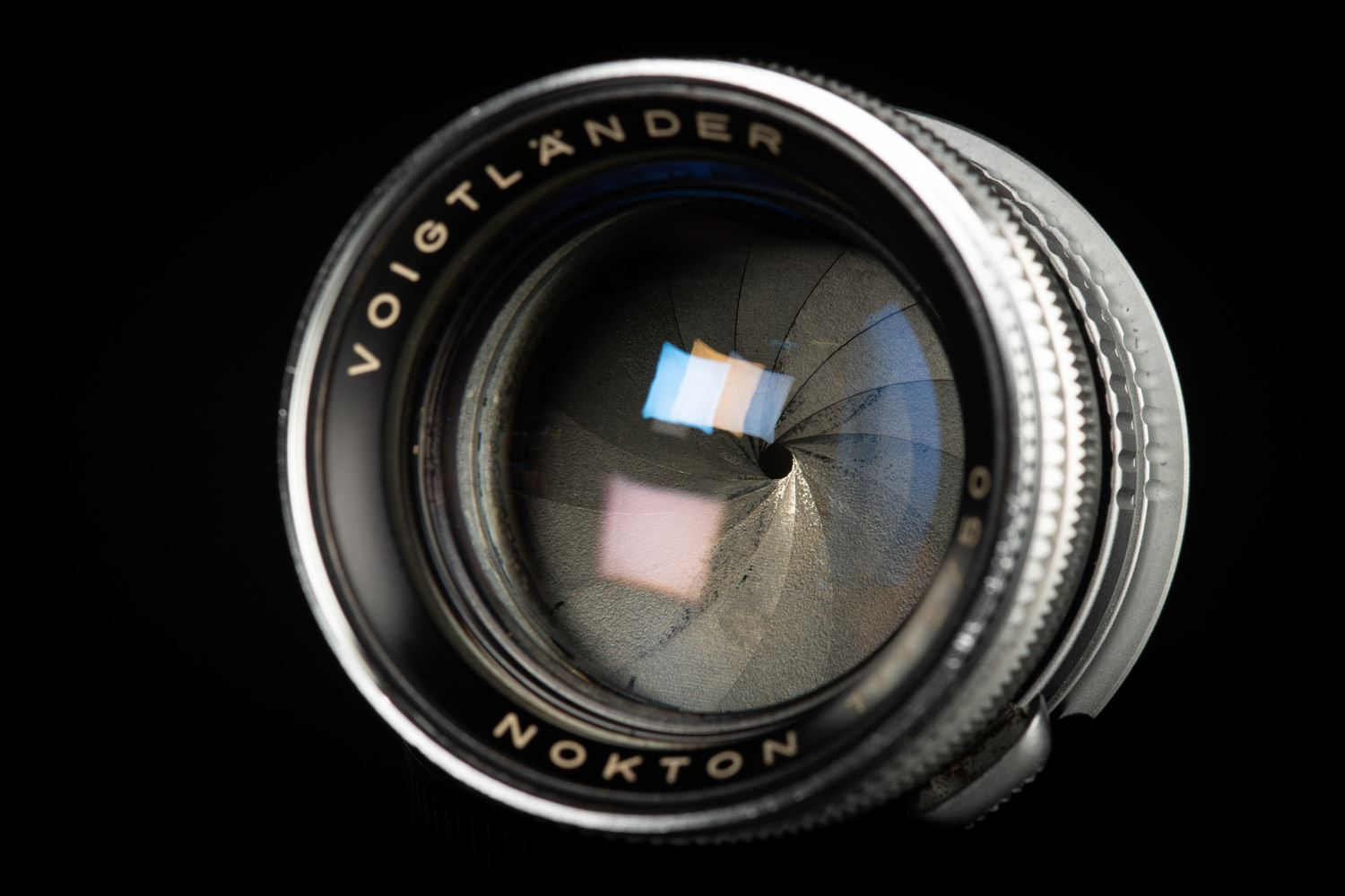 Picture of Voigtlander Nokton 50mm f/1.5 adapted to Leica M