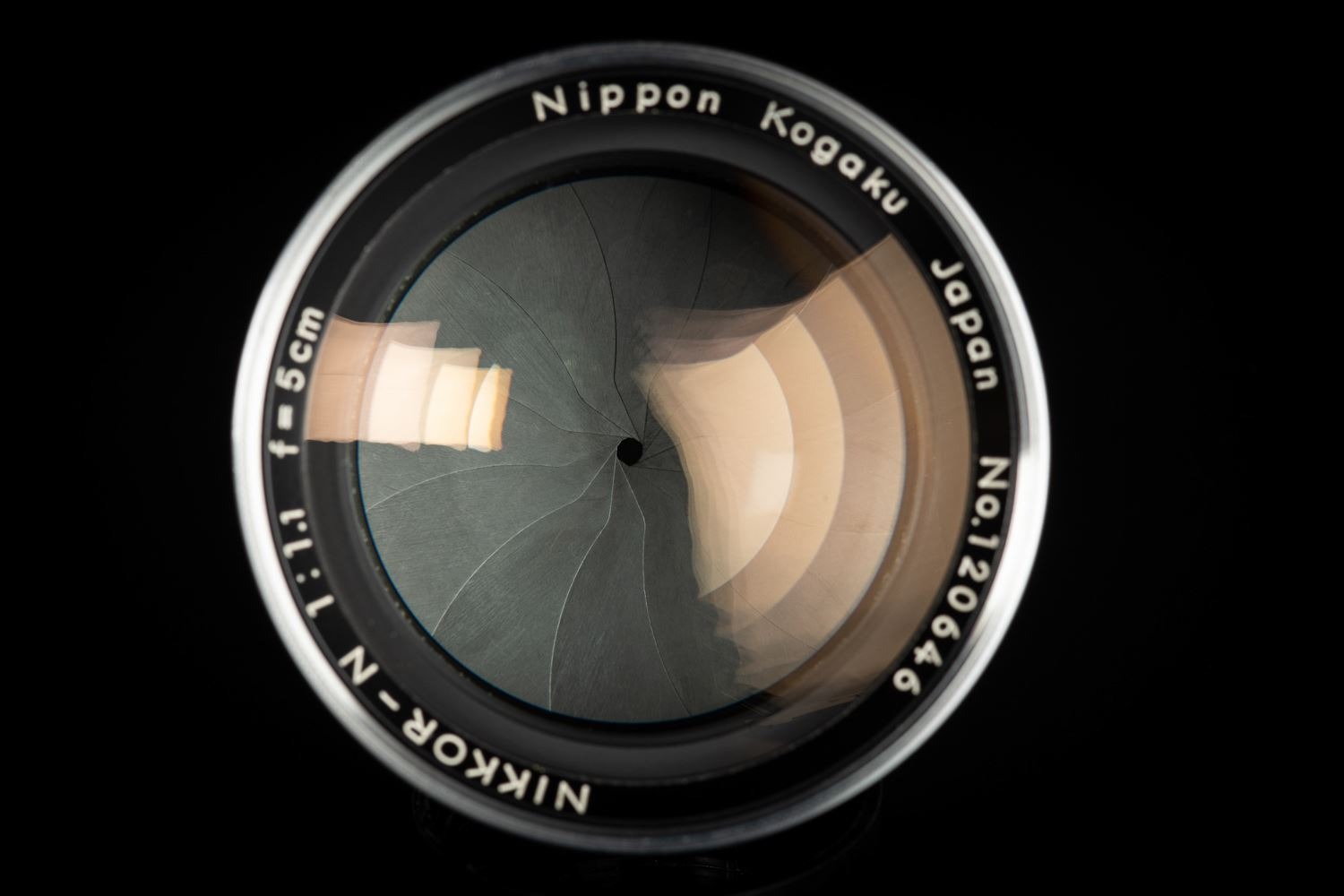 Picture of Nikon Nippon Kogaku Nikkor 50mm f/1.1 Internal S Mount