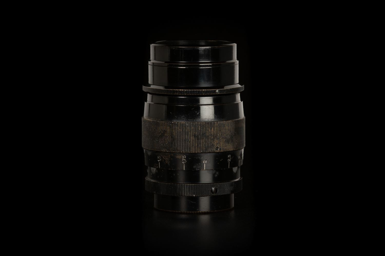 Picture of Leica III with Hektor 73mm f/1.9 All Black