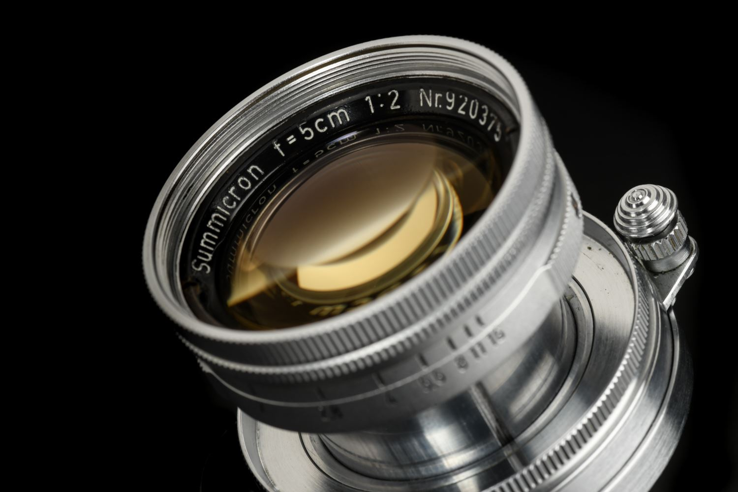 Picture of Leica Summicron 5cm f/2 Early Radioactive LTM Screw
