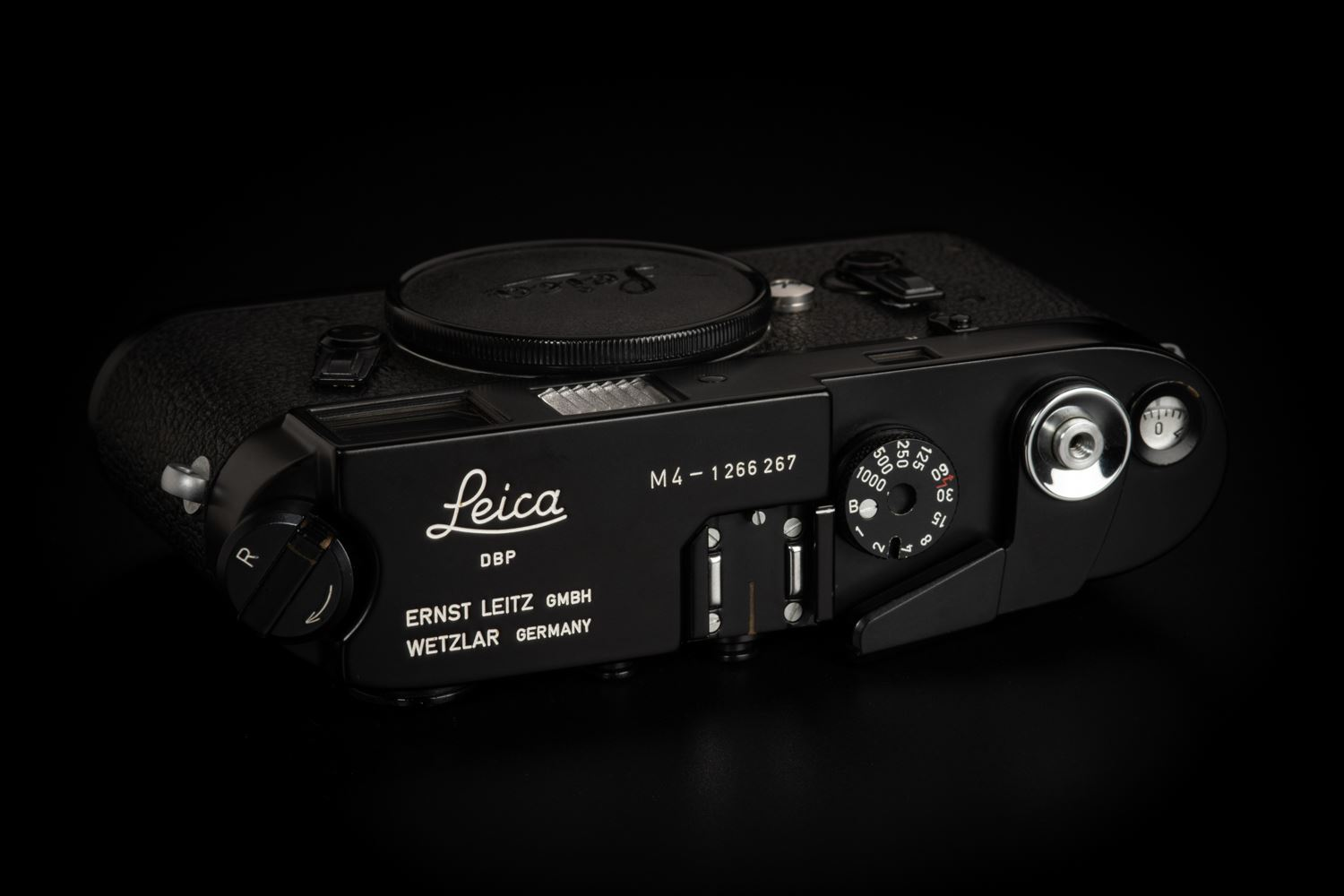 Picture of Leica M4 Original Black Paint