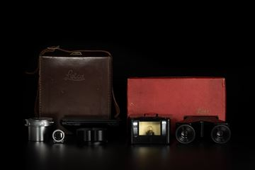 Picture of Leica Stemar 3.3cm f/3.5 Stereo Set with OTHEO Stereo Viewer