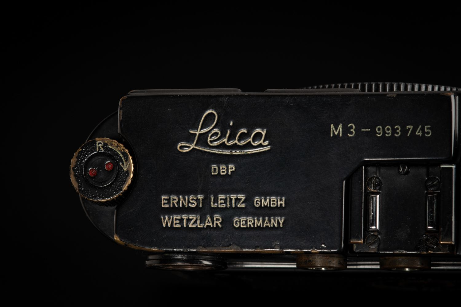 Picture of Leica M3 Original Black Paint