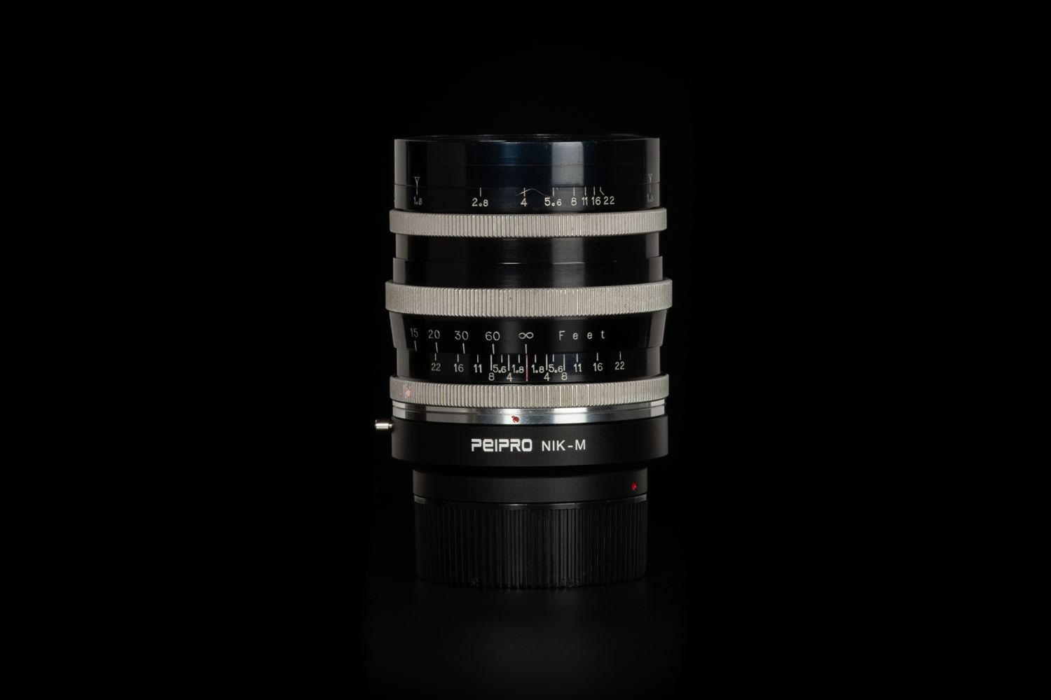 Picture of Angenieux Type P1 90mm f/1.8 Modified To Nikon F