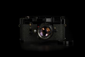 Picture of Leica M3 Original Black Paint with Leica Summicron-M 50mm f/2 Rigid Ver.2 Black Paint