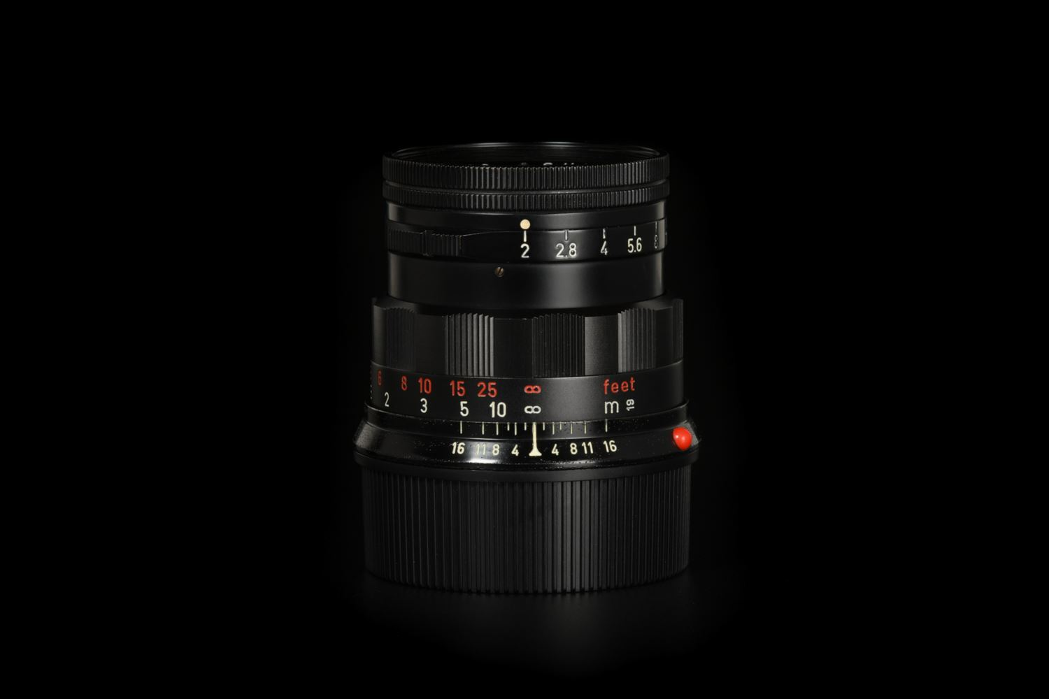 Picture of Leica Summicron-M 50mm f/2 Rigid Ver.2 Black Paint