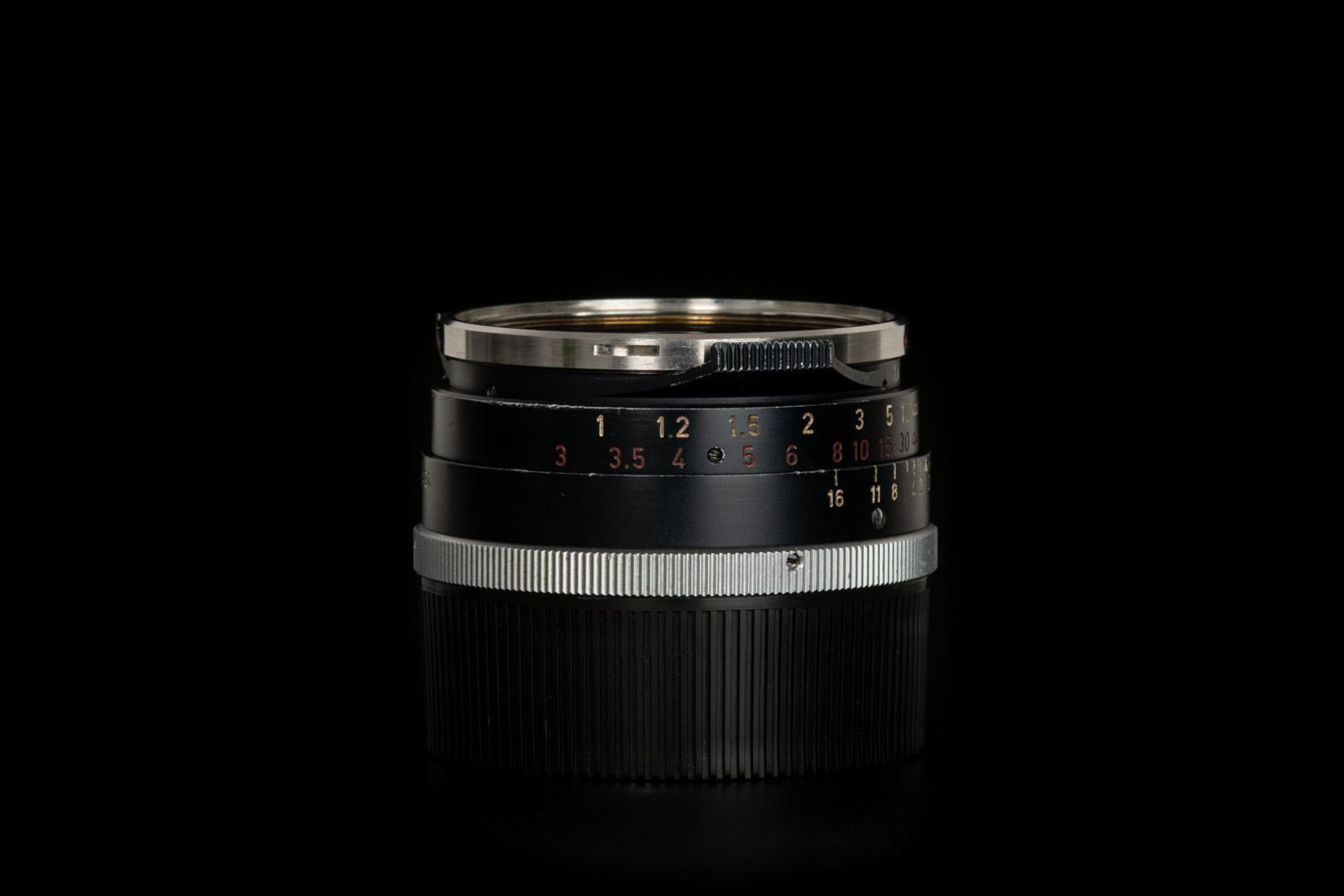 Picture of Leica Summilux-M 35mm f/1.4 Ver.1 Steel Rim Black Paint