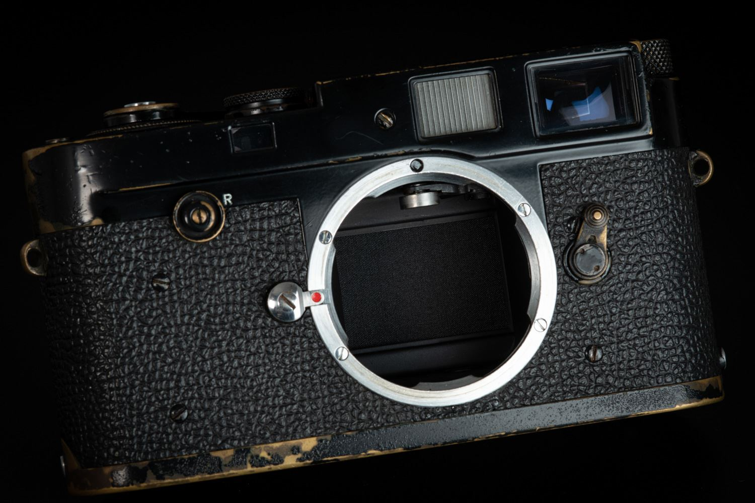 Picture of Leica M2 Button Rewind Early Black Paint