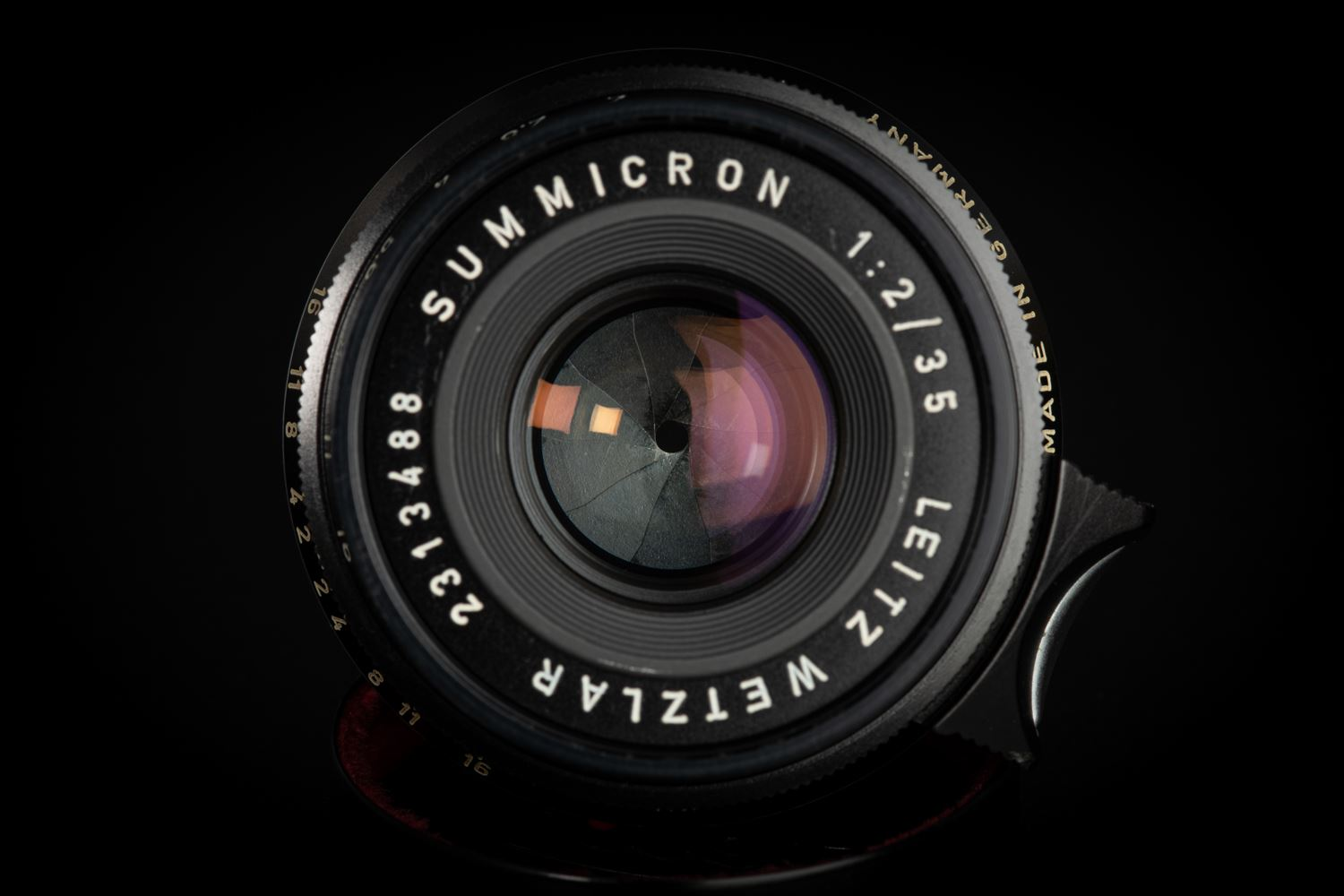 Picture of Leica Summicron-M 35mm f/2 Ver.1 8-element Black