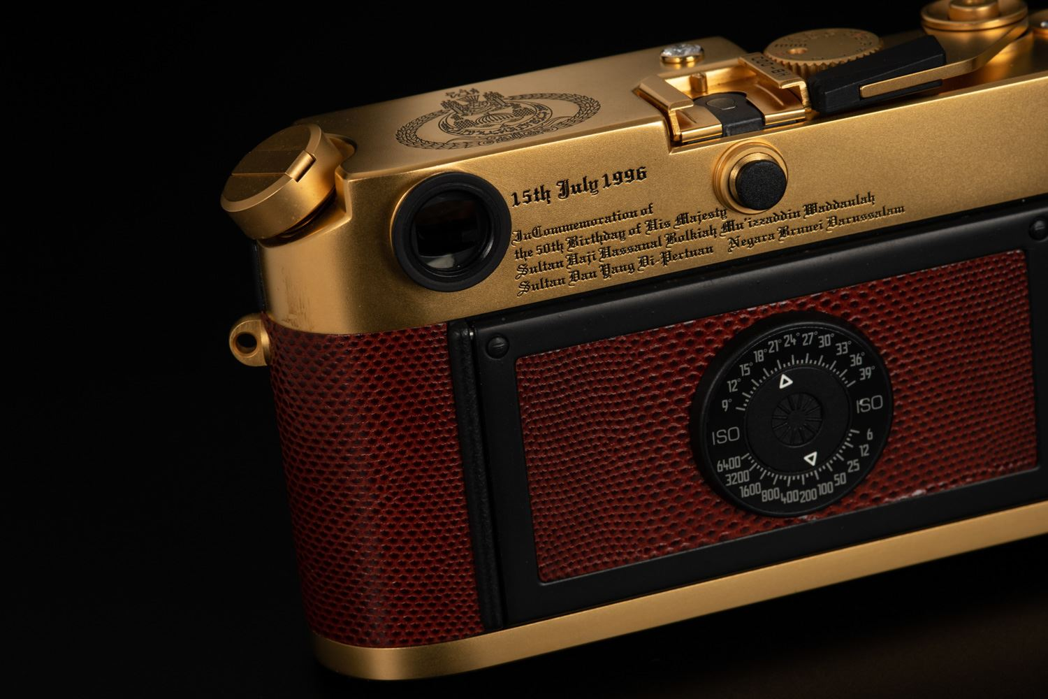 Picture of Leica M6 Brunei Gold Set with Diamond