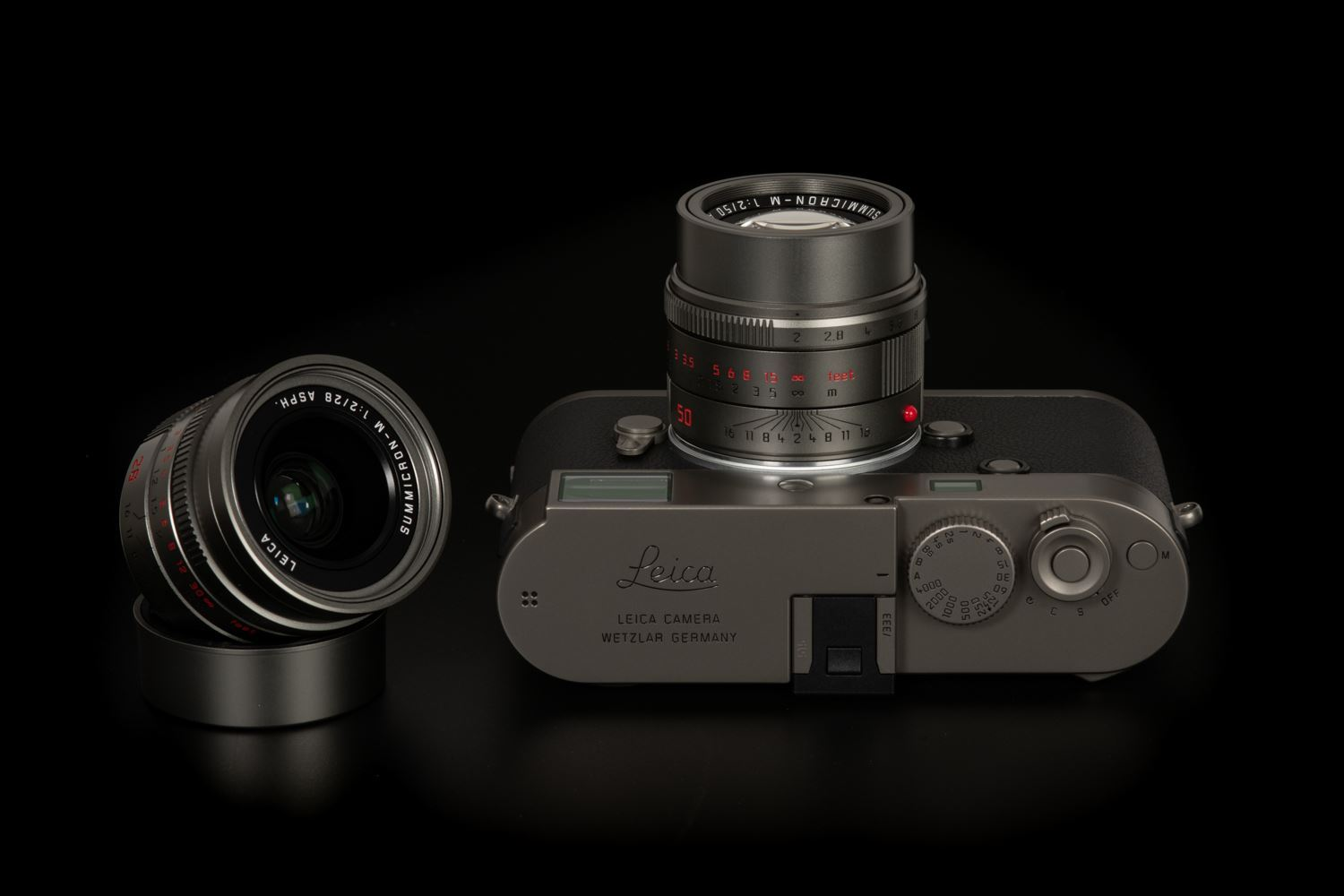 Picture of Leica M-P (Typ 240) Titanium Set