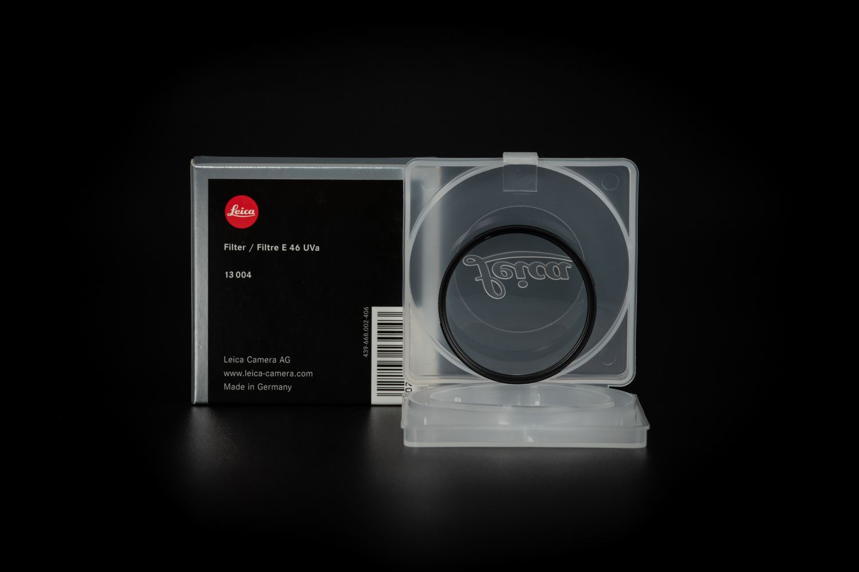 Picture of Leica Filter E46 Uva Black