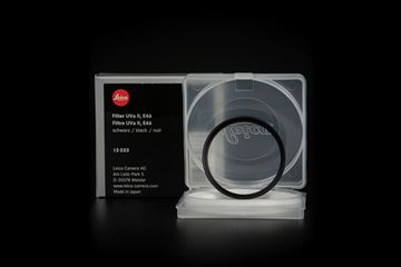 Picture of Leica Filter UVa II, E46, black