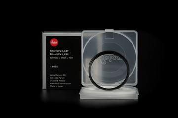 Picture of Leica Filter Uva II, E49, black