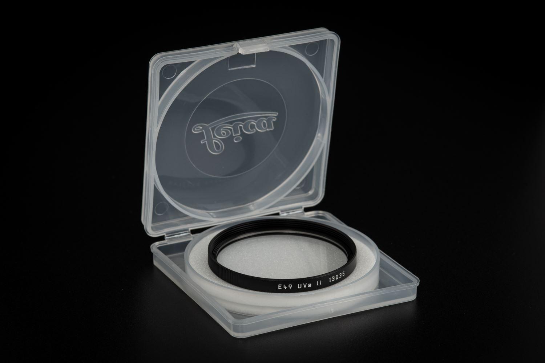 Picture of Leica Filter Uva II, E49, black