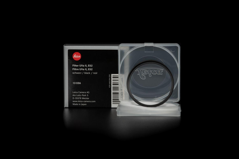 Picture of LEICA FILTER E52 UVA II (BLACK)