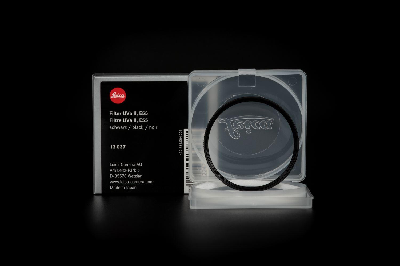 Picture of Leica Filter UVa II, E55, black