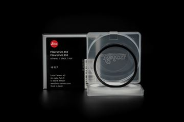Picture of Leica Filter UVa II, E55, black