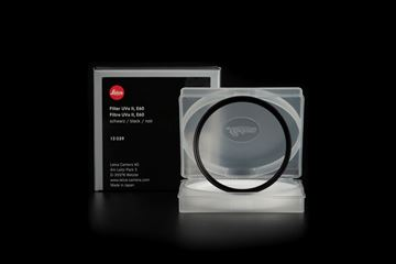 Picture of Leica Filter UVa II, E60, black