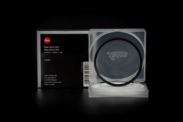 Picture of Leica Filter Uva II, E72, black