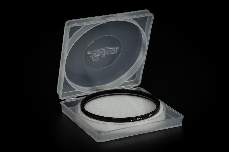 Picture of Leica Filter Uva II, E72, black