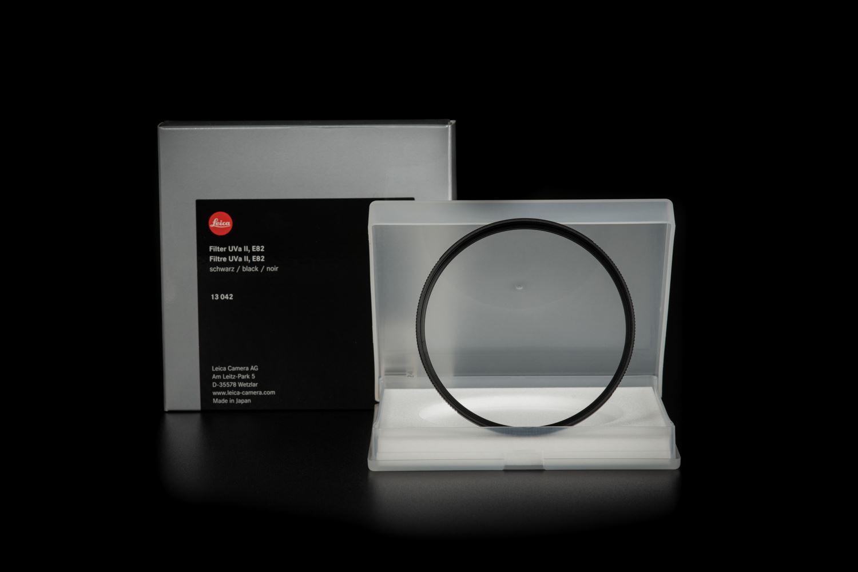 Picture of Leica Filter UVa II, E82, black