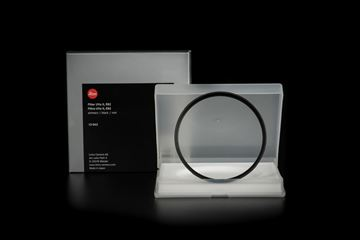 Picture of Leica Filter UVa II, E82, black
