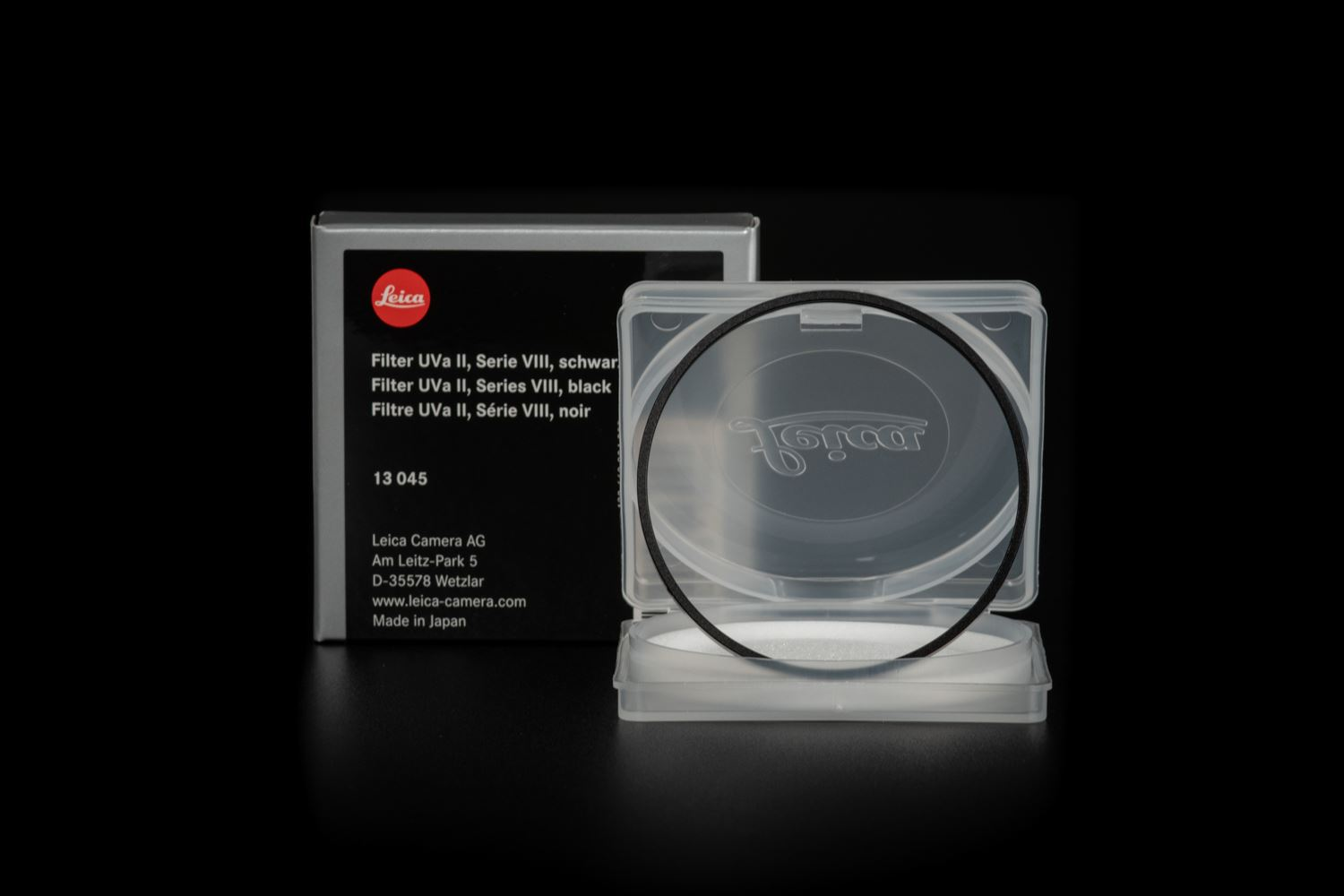 Picture of Leica Filter Uva II, Series VIII, black