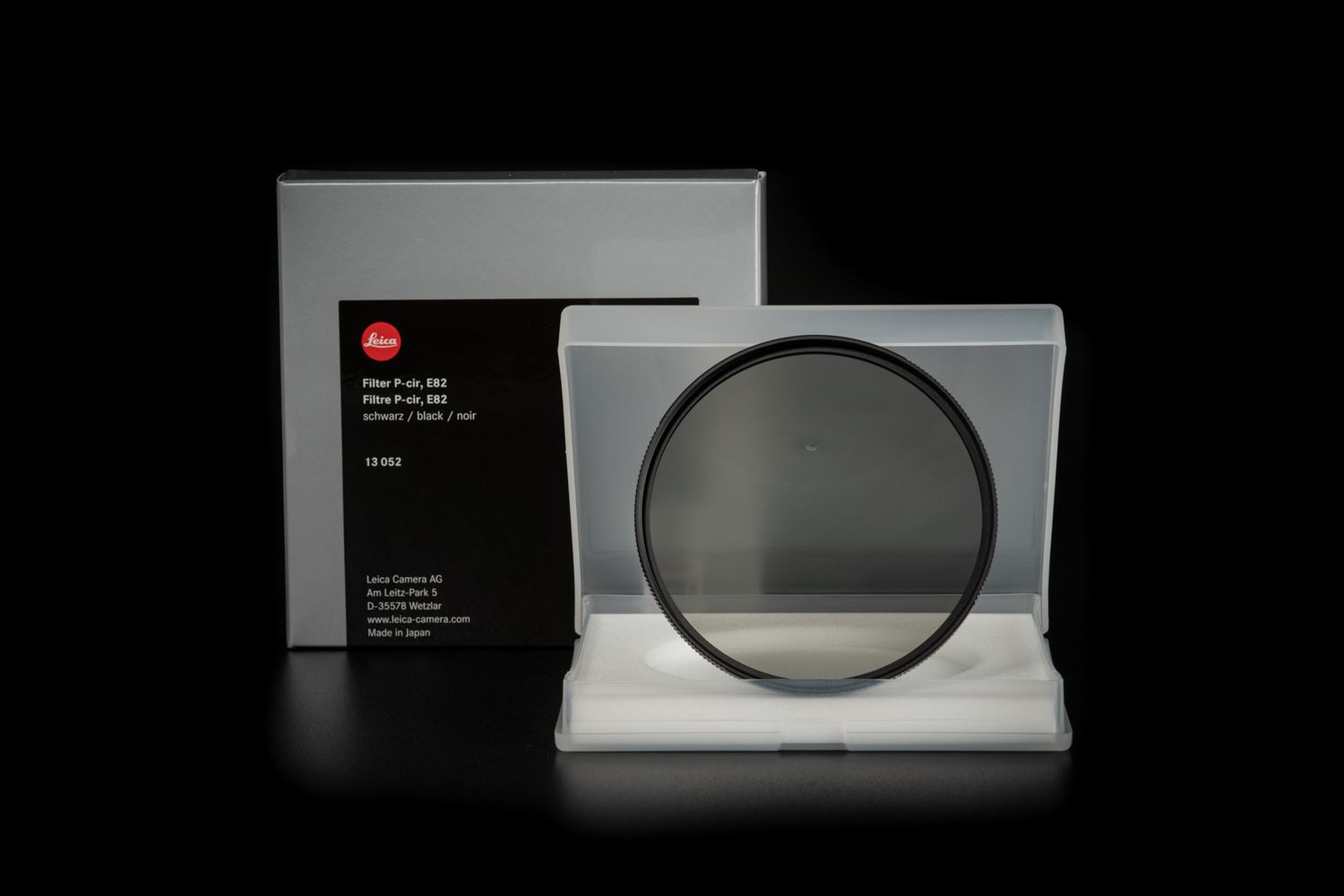 Picture of Leica Filter P-cir, E82, black