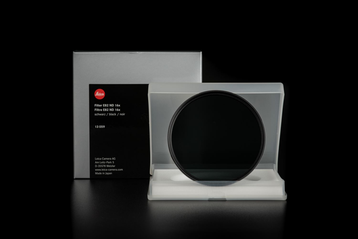 Picture of Leica Filter ND 16x E82, black