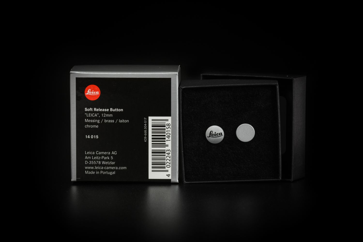 Picture of leica Soft release button, 12, silvery