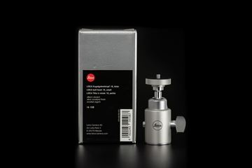 Picture of Leica Ball head 18, small, silver anodize finish