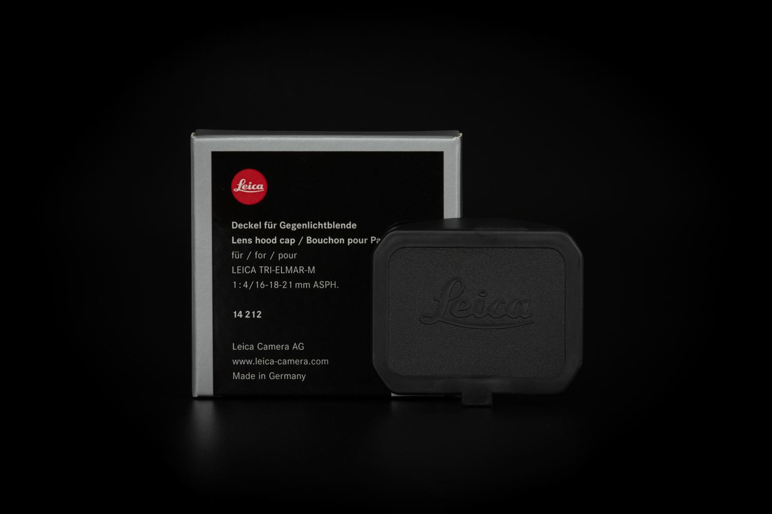 Picture of Leica Hood Cap, M16-18-21mm f/4, 21mm f/3.4, 35mm f/1.4