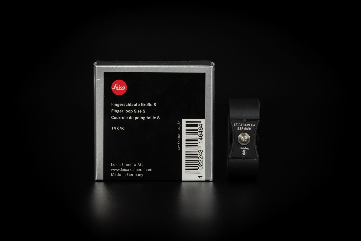 Picture of LEICA FINGER LOOP (SIZE S) FOR HANDGRIP M, Q, X-V, X