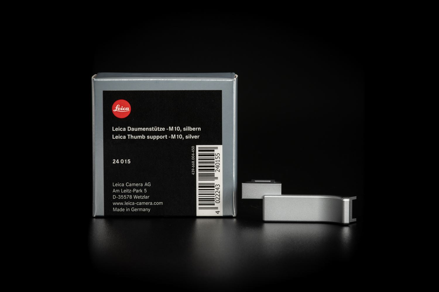 Picture of Leica Thumb Support M10, Silver