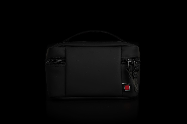 Picture of Artisan & Artist ACAM-60N PVC/NYLON Black Camera Pouch
