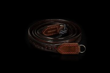 Picture of Angelo Pelle Neck Strap, Anima Rossa - 105cm