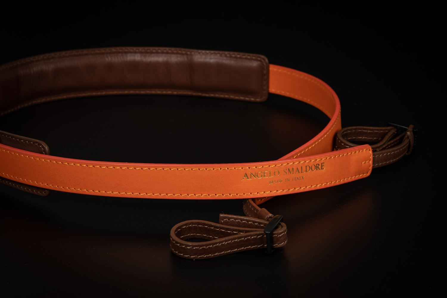 Picture of Angelo Pelle Neck Strap, Ferrara SL - Orange
